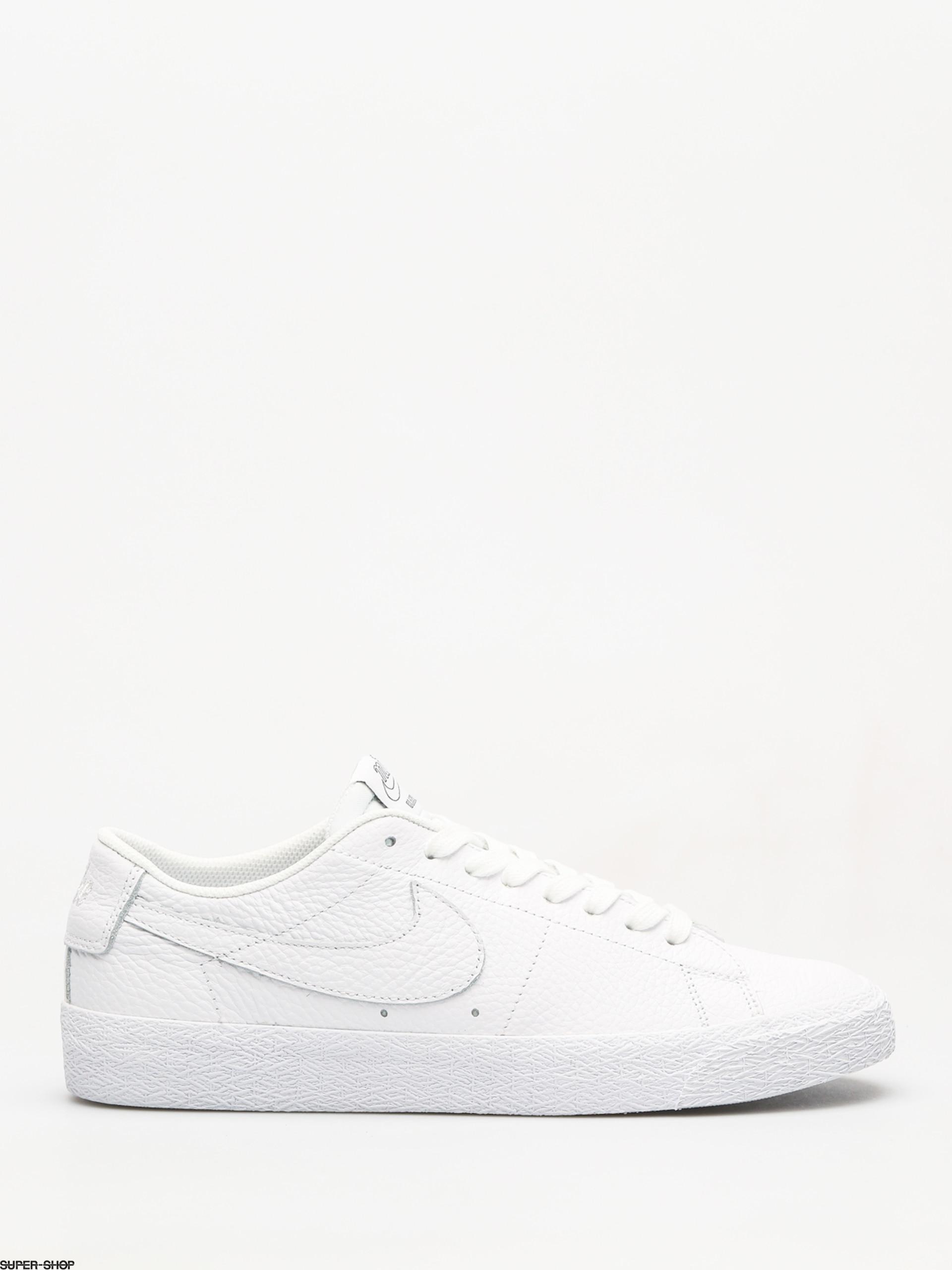 new styles f6f5c 5240f Nike SB Sb Zoom Blazer Low NBA Shoes (white/white rush blue university red)