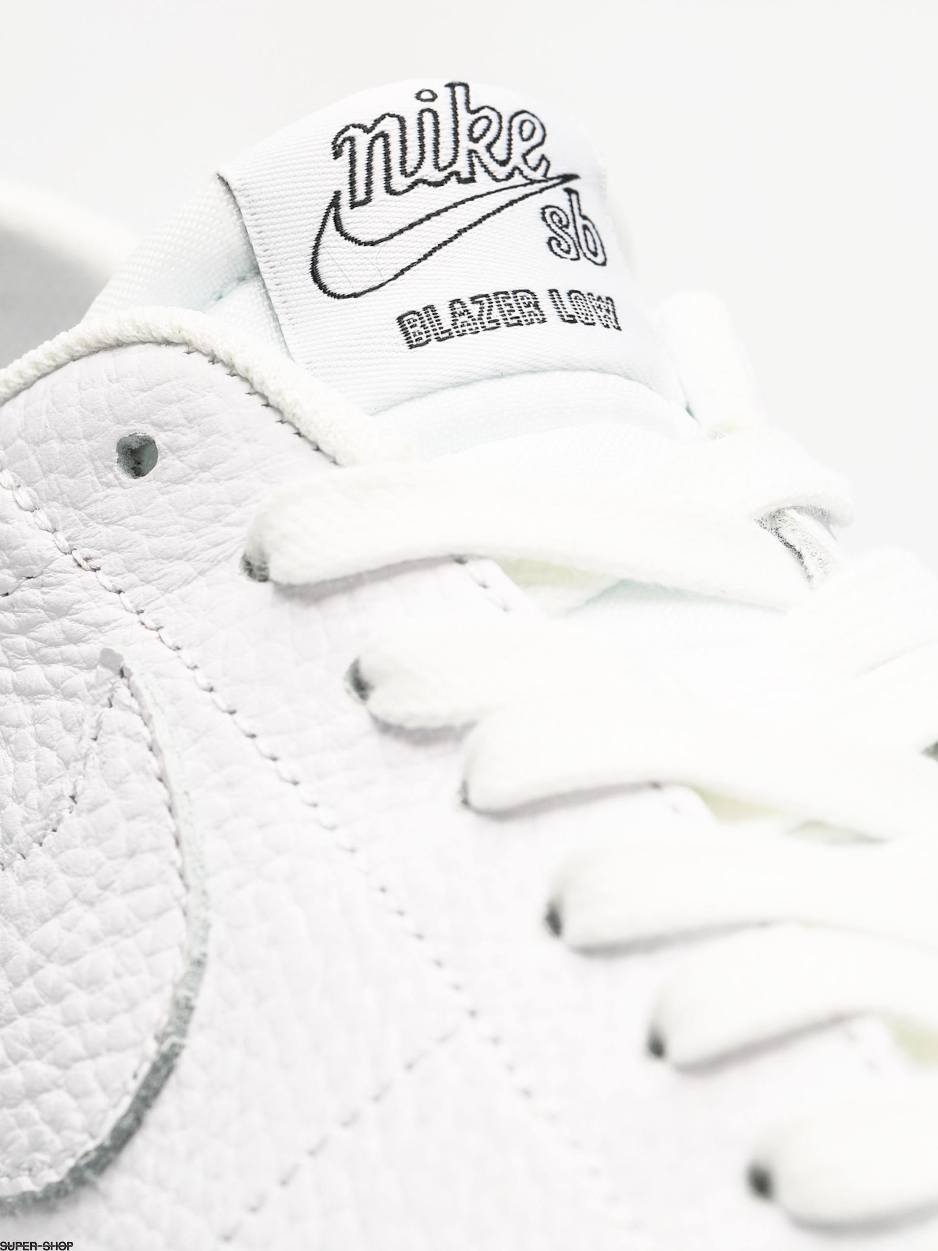 10cc6695f28ef Nike SB Sb Zoom Blazer Low NBA Shoes (white white rush blue university red)