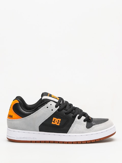 DC Manteca Shoes (grey/black/orange)