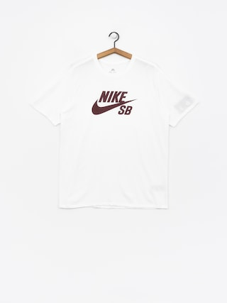 Nike SB T-shirt Sb Logo (white/white/burgundy crush)