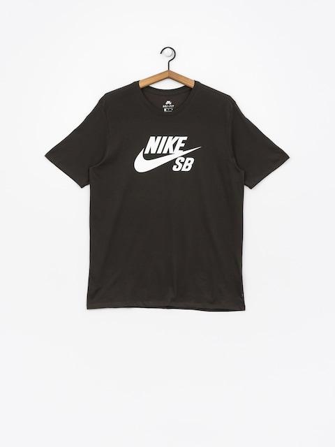 Nike SB T-Shirt Sb Logo (sequoia/sequoia/white)