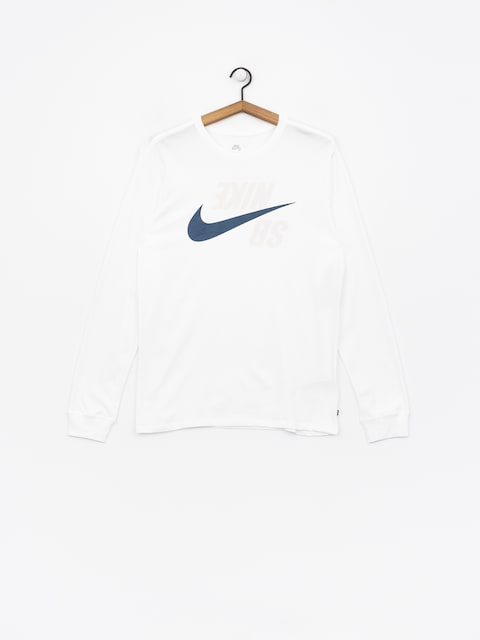 Nike SB Longsleeve Sb Backwards (white/blue force)
