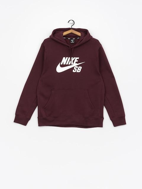 Nike SB Sweatshirt Sb Icon (burgundy crush/white)