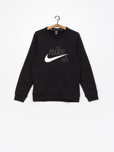 Nike SB Longsleeve Sb Top Icon Craft (black/white)