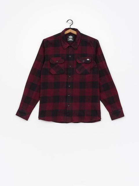 Dickies Shirt Sacramento (maroon)