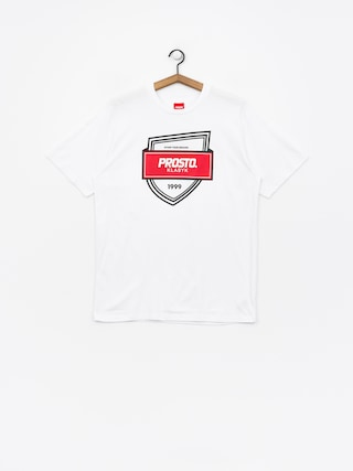 Prosto Badge T-shirt (snow)