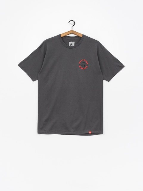 Spitfire T-Shirt Classic Bghd (charcoal/red)