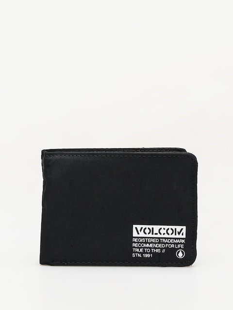 Volcom Spark 3 Fold Wallet (blk)