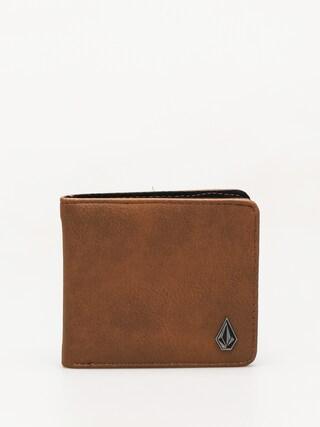 Volcom Slim Stone Pu Wallet (brn)