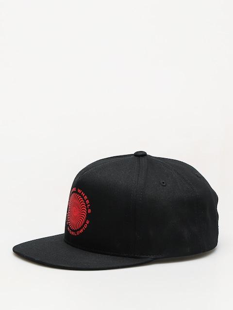HUF Cap Spitfire Swirl Snapback ZD (black)