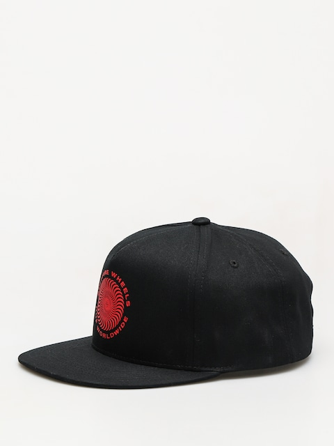 HUF Spitfire Swirl Snapback ZD Cap (black)