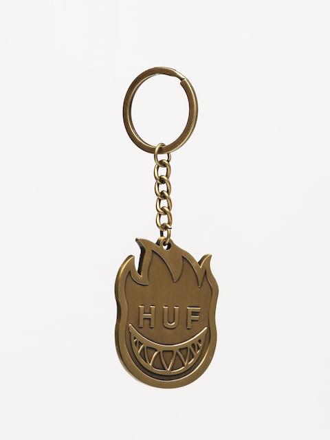 HUF x Spitfire Schlüsselanhänger Bighead Keychain (gold)