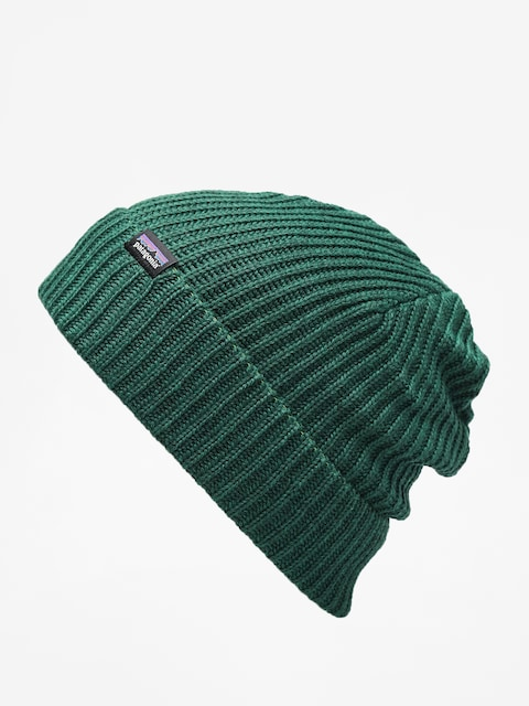 Patagonia Fishermans Rolled Beanie (micro green)