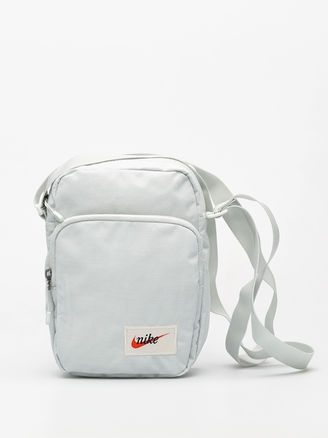 Nike Bag Heritage (light silver/light silver/orange blaze)