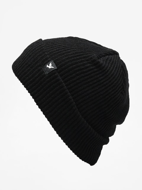 Nervous Beanie Icon (black)