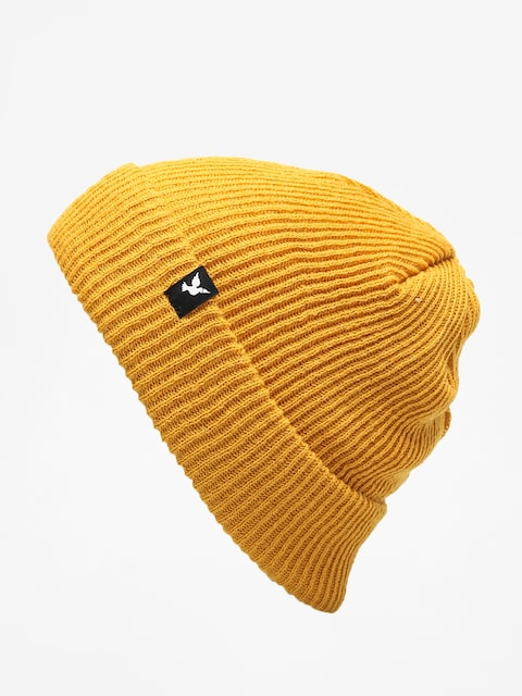 Nervous Beanie Icon (mustard)