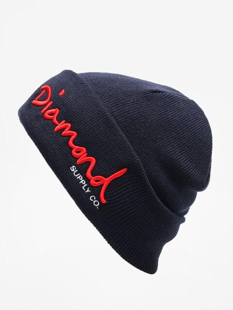 Diamond Supply Co. Beanie Og Script Beanie (navy)