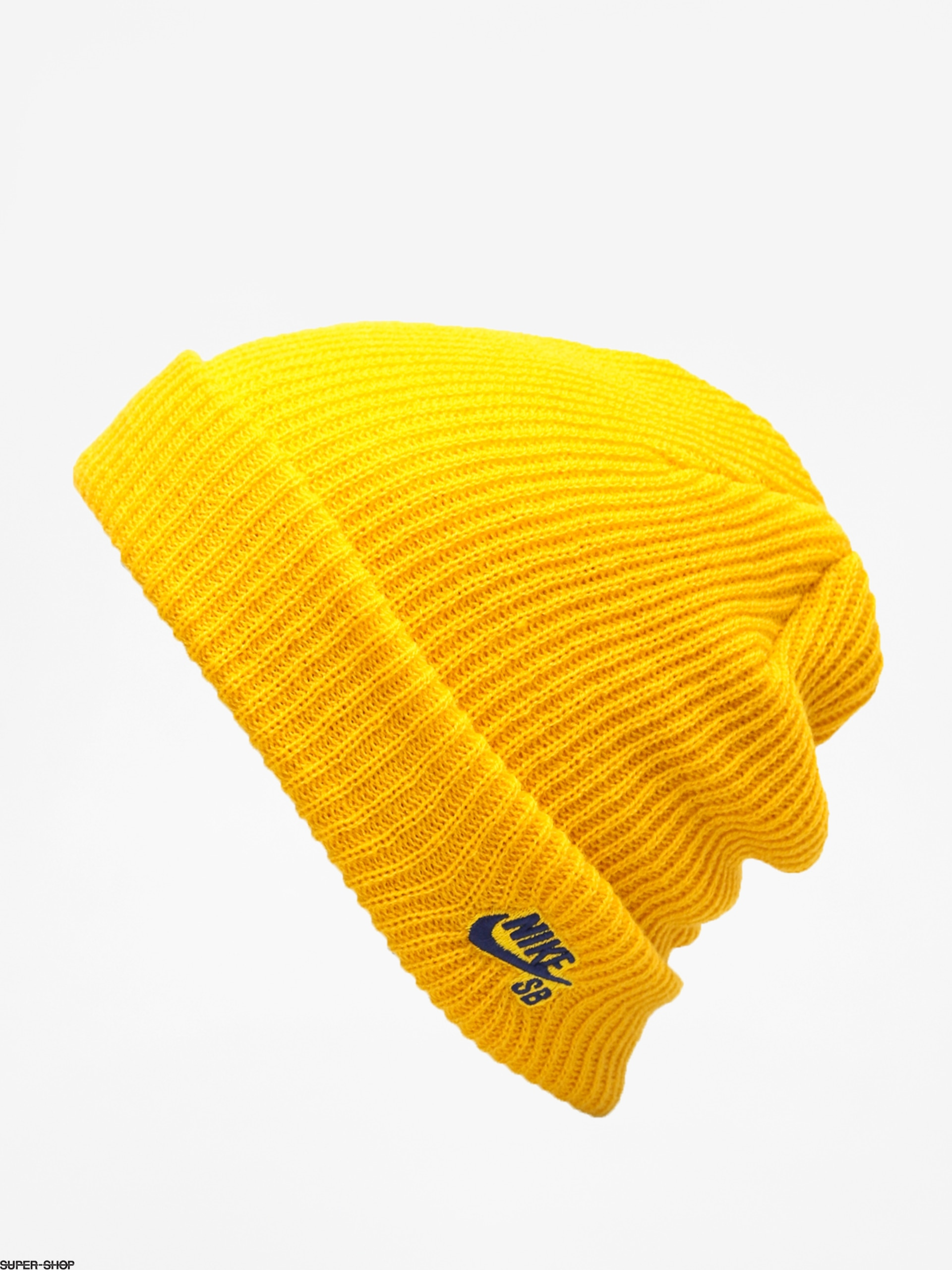 7cf440ffb0c2c8 Nike SB Sb Fisherman Beanie (yellow ochre/blue void)