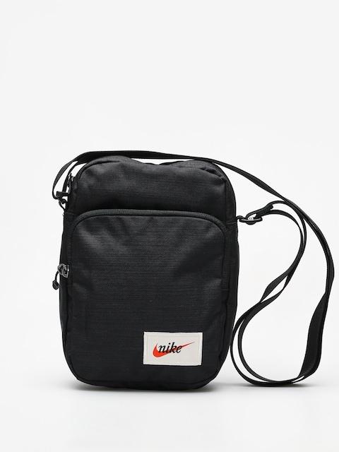 Nike Bag Heritage (black/black/orange blaze)