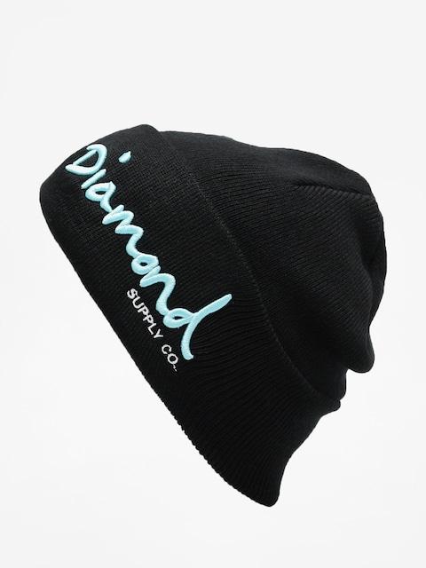 Diamond Supply Co. Og Script Beanie Mütze (black)