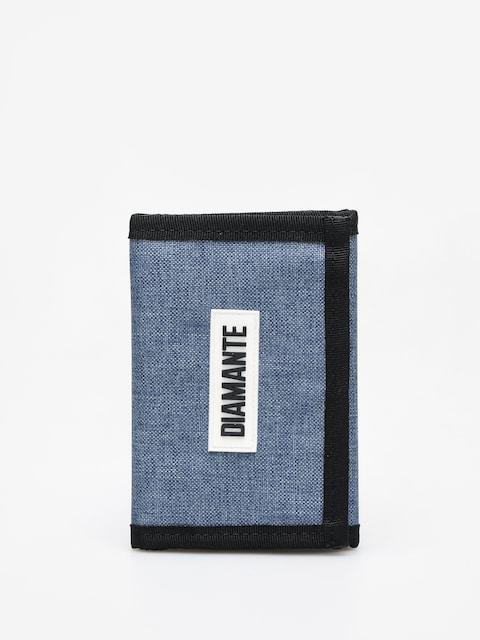 Diamante Wear Logo White Wallet (blue/jeans)