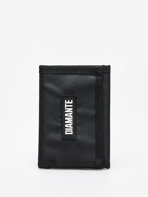 Diamante Wear Logo Black Wallet (black)
