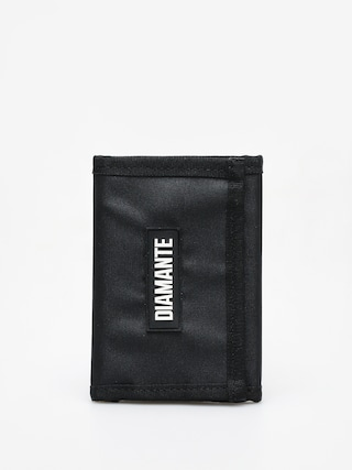 Diamante Wear Logo Black Wallet (black)