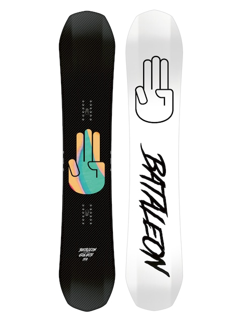 Bataleon Snowboard Goliath (white/black)