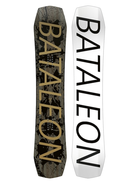 Bataleon Snowboard Global Warmer (white/black)