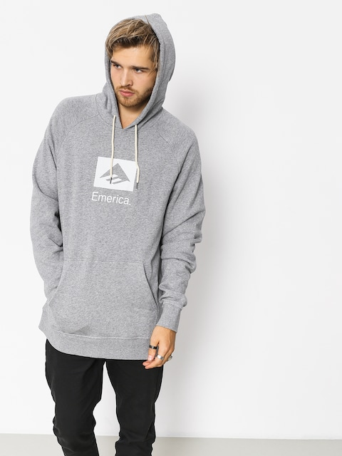 Emerica Hoodie Brand Combo HD (grey/heather)