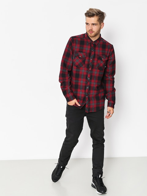 Iriedaily Shirt Rosomako 2 0 Ls (dark red)