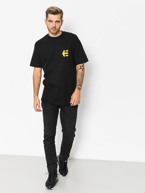 Etnies T-shirt Icon Pocket (black/gold)