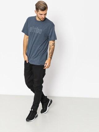 Etnies T-shirt Mod Stencil (navy/heather)