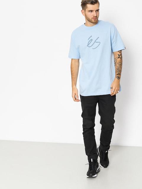 Es T-shirt Mid Script Tech (light blue)