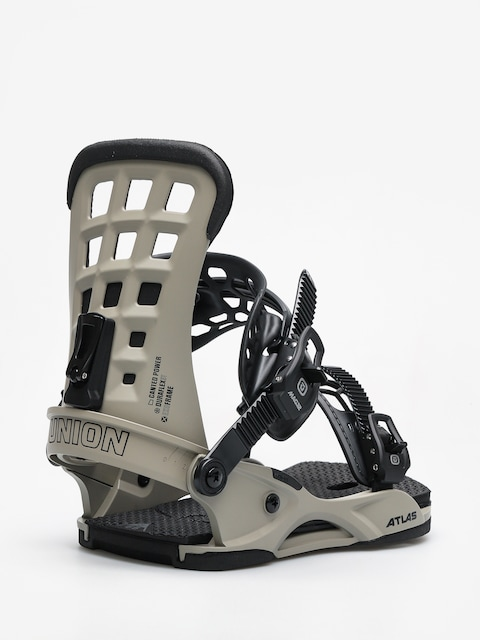 Union Snowboard bindings Atlas (matte gray)