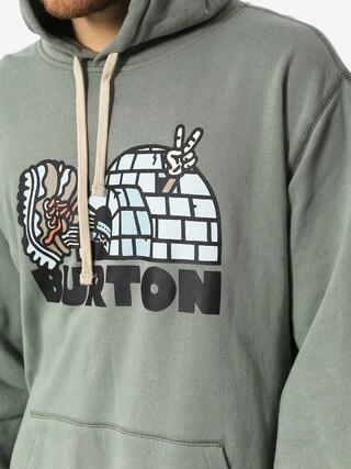 Burton Hoodie Cupajo Org HD (lily pad)