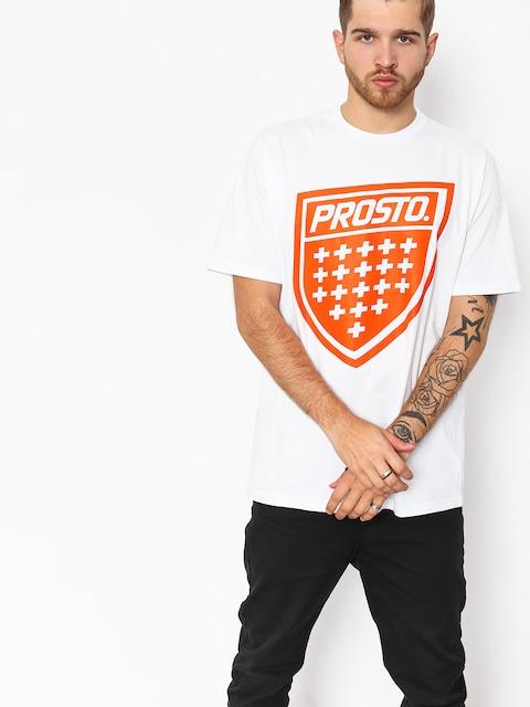 Prosto T-shirt Shield Xix (snow)