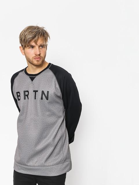 Burton Active sweatshirt Crown Bndd Crew (htrmnt/trublk)