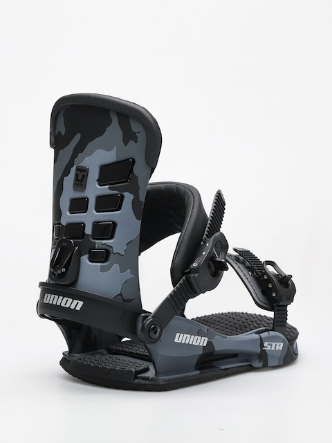 Union Snowboard bindings STR (black camo)
