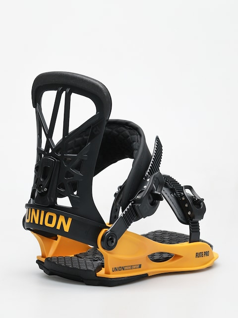 Union Snowboard bindings Flite Pro (black yellow)