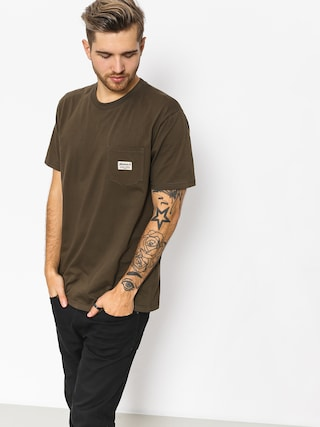Turbokolor T-shirt Tag Pocket (khaki)