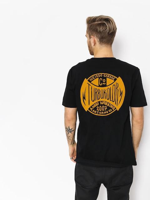 Turbokolor T-shirt Oval Logo (black)