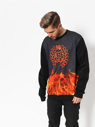 MassDnm Sweatshirt Burn Babylon (black)