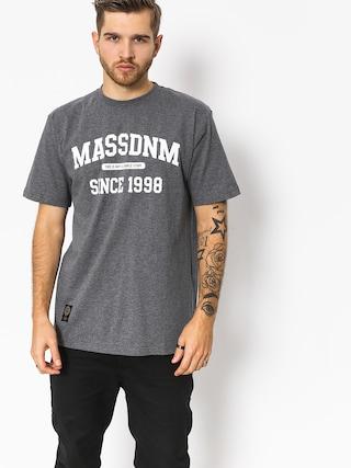 MassDnm T-Shirt Campus (dark heather grey)