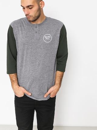 Brixton T-shirt Wheeler 3/4 Slv Hnly (heather grey/pine)
