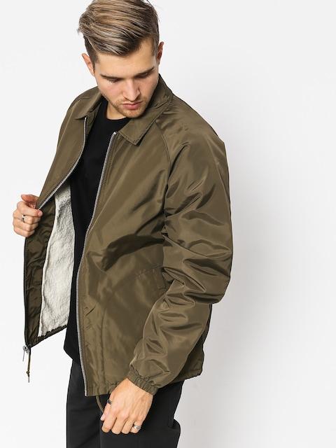 Brixton Claxton Collar Sherpa Jacket (olive)