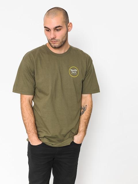 Brixton T-shirt Wheeler II Stnd