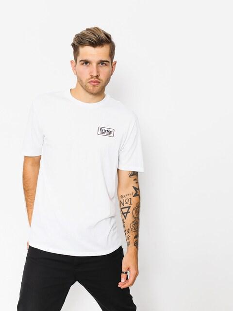 Brixton Palmer Prem T-shirt (white/navy)
