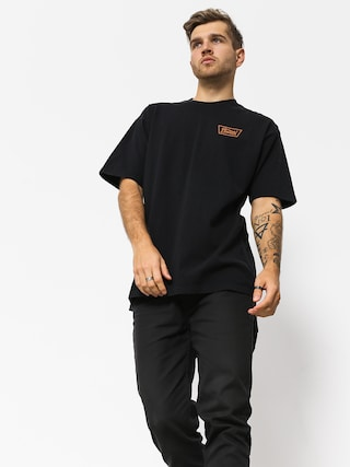 Brixton Stith Stnd T-shirt (black/orange)