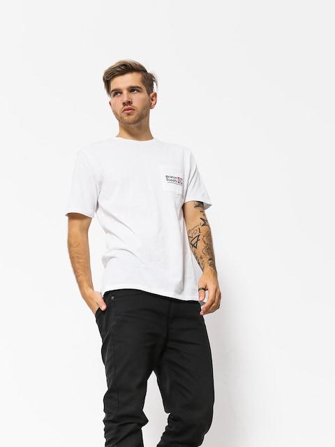 Brixton Orson Pkt T-shirt (white)